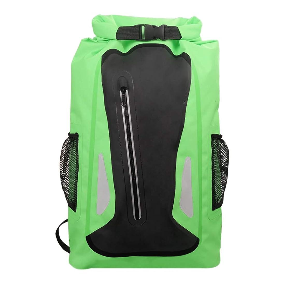 トランク有益オペレーターJVSISM アウトドアブルー川旅行バッグドライサックバッグダブルショルダーストラップウォーターパック水泳バックパック防水バッグ、漂流カヤック用
