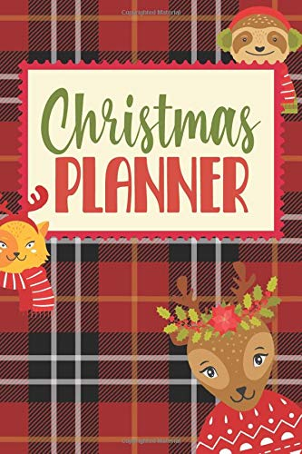 Christmas Planner: Journal With Gift List, Holiday Cards Tracker, Online Shopping Organizer, Menu Planner, Party Checklist and Calendar. (Christmas 2020)