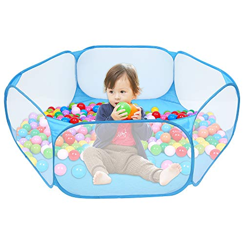 Piscina de Bolas para Bebes con Bolas tienda de Juego Infantil Plegable Parque Bebe Bolas Jardin Exterior Interior Juguetes Niños Niñas y Bebes