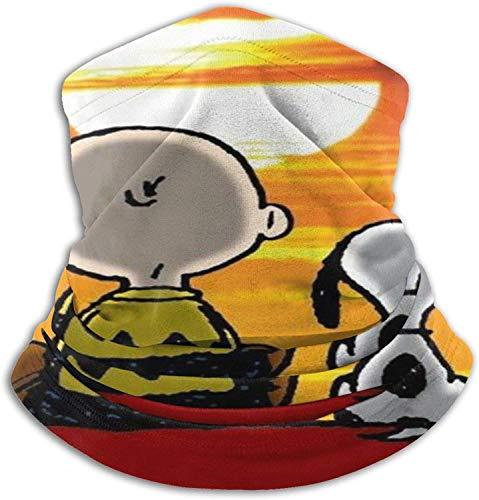 Bandanas Snoopy Mascarilla Cuello Polaina Pasamontañas Pañuelo Pañuelo Protector Reutilizable Transpirable para Hombres Mujeres Esquí Caza Pesca Motocicleta Correr Ciclismo