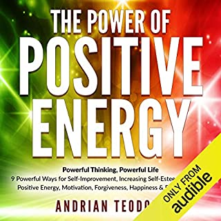 The Power of Positive Energy audiobook cover art