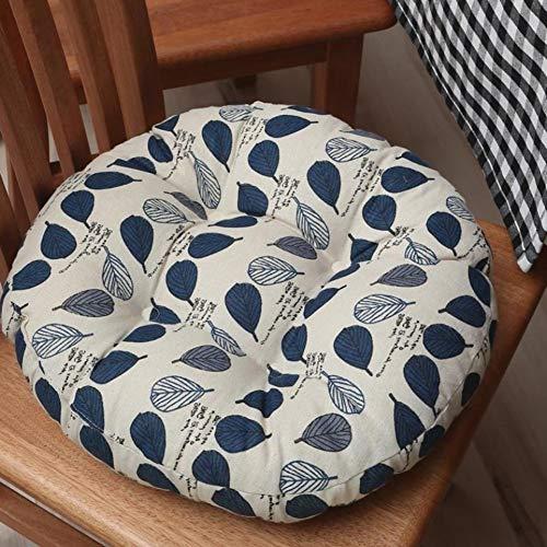 Micaza Tufted Round Cushion, Indoor Outdoor Tufted Seat Cushion Tufted Padded Boosted Cushion And Support Thicken Floor Pillow Cushion-m Diameter:45cm(18inch)