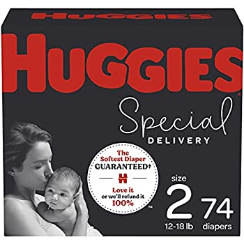 Hypoallergenic Baby Diapers Size 2 74 Ct Huggies Special Delivery