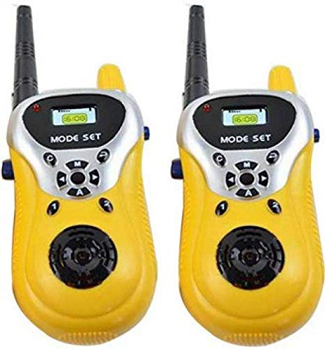Smilecasters Best Walkie Talkie Set Role Play Toy (Yellow)