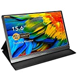 Portable Monitor - Lepow 15.6 Inch Portable Screen 1920×1080 Full HD IPS USB Monitor with HDR Mode, with USB-C/Type-C/Mini HDMI, Portable Display for PC MAC Cell Phone Xbox PS4, with protective cover