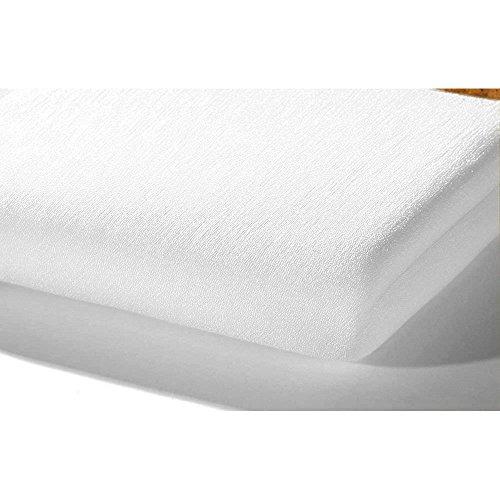 Alvi 93510 hoeslaken tricot, wit