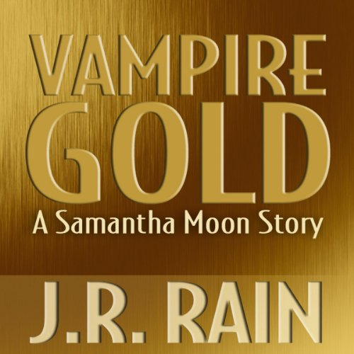 Vampire Gold audiobook cover art