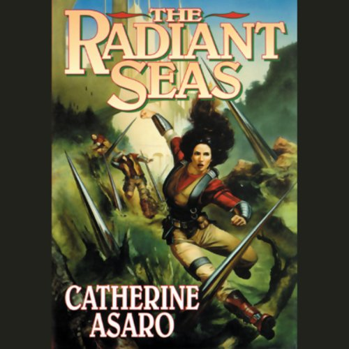 The Radiant Seas audiobook cover art