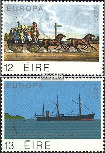 Ierland Mi.-Aantal.: 412-413 (compleet.Kwestie.) 1979 Geschiedenis van Postadres (Postzegels voor verzamelaars) paarden
