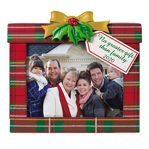 Hallmark Keepsake Christmas Ornament 2020 Year-Dated, Family's the Greatest Gift Photo Frame
