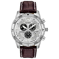 Citizen Men's BL5470-06A Stainless Steel Eco-Drive Watch with Leather Band Reviews