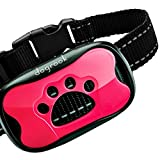 DogRook Rechargeable Dog Bark Collar - Humane, No Shock Barking Collar - w/2