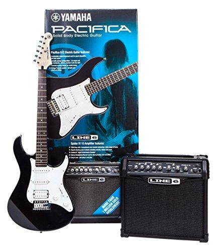 Yamaha PA012BL Spider Pack elektrische Gitarrenset
