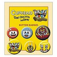 CUPHEAD カップヘッド - Mix/バッジ 【公式/オフィシャル】