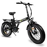 e-IBK Bici Elettrica Pieghevole Fat Bike 20' Pollici Batteria 48V Volt Litio Telaio in Alluminio Cambio...