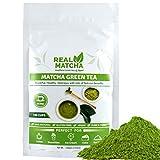 Real Matcha Japanese Matcha Green Tea Powder for Weight Loss 100gm (100 Cups)