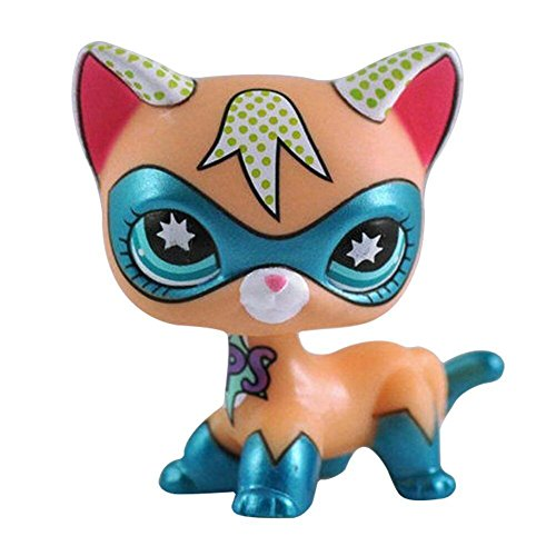Meetsunshine LPS Toy,Child Girl Figure Toy Loose Cute Doll LPS Pet Collie Dog