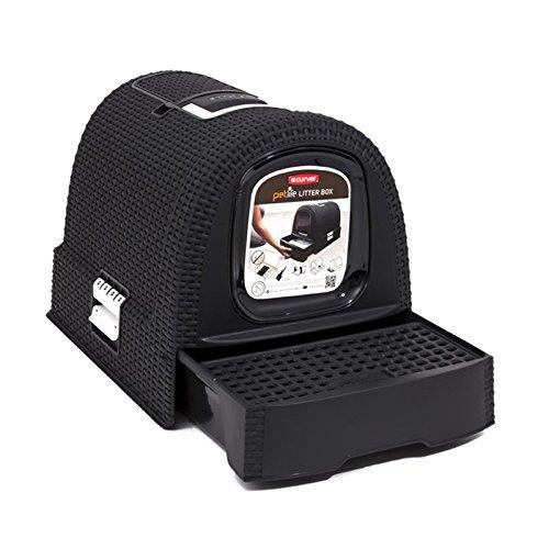 Curver Katzentoilette Sicherheit anthrazit - 3