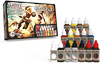 The Army Painter Guildball Miniature Paints, Army Paint Set of 16 Dropper Bottle Paints for Miniatures from Guild Ball Board Game - Guild Ball Kick Off Paint Set by The Army Painter