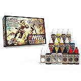 The Army Painter | Kick off! Paint Set | Guild Ball | 16 Colores Acrílicos y una Guía de Pintura GRATUITA| Pintura de Modelos en Miniatura Wargames | CMON Rising Sun