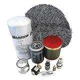 Kit Champion Airtech CC1180689 Servicio Avanzado para compresores de tornillo FM 15 FM 18 FM 22 Aire de presión y filtro de aceite