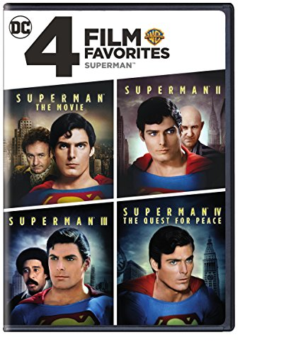 4 Film Favorites: Superman (Superman II: Special Edition, Superman III: Deluxe Edition, Superman IV: Deluxe Edition, Superman, The Movie: Special Edition) (Cover may vary)