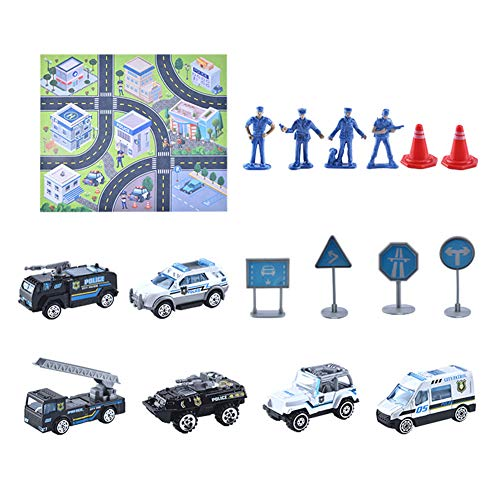jingjing 2021 nuevo regalo – niños niños tráfico, kits de juguetes de la ciudad, mapa de la escena de los coches, señales de carretera, modelo de regalo (03)