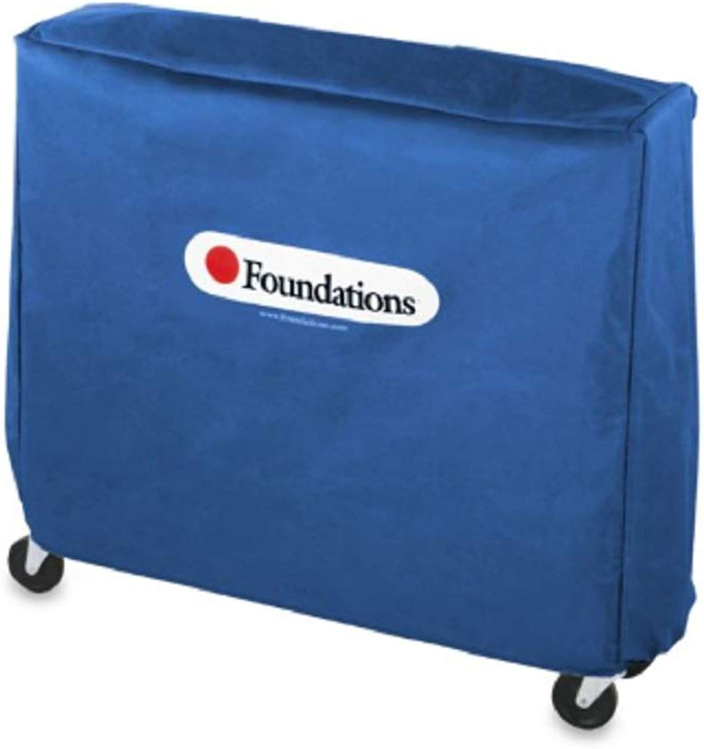 Foundations Crib Saver Compact-Size Crib Cover in bluee