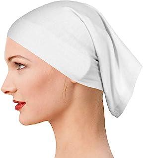 تتميز القبعة المرنة التي يتم ارتدائها تحت الحجاب من ييو للنساء بأنها ذات لون ثابت وتأتي في قطعة/ قطعتين/ 4 قطع.