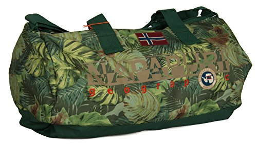 Borsone Duffle Round Napapijri North Cape Green