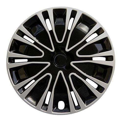 WNN-URG Colocación Gratuita 4pcs Rueda de Ajuste Compatible con 13/14/15 Pulgadas Cubiertas de Ruedas Piezas de modificación de automóviles Enviar Logo de Coche URG