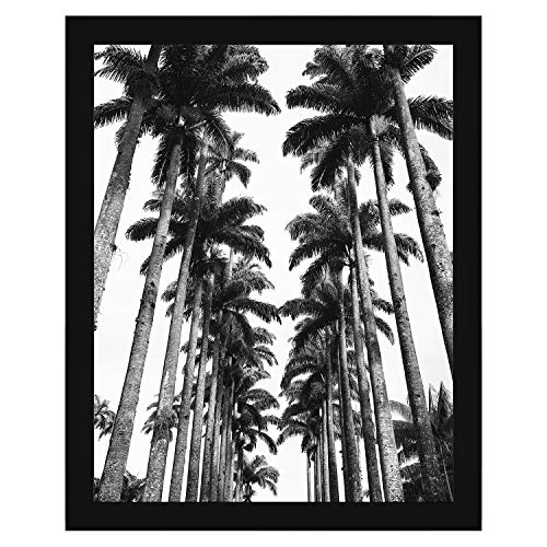 Americanflat 22x28 Poster Frame in Black with Polished Plexiglass - Horizontal and Vertical Formats with Included Hanging Hardware