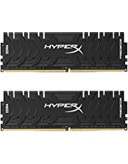 HyperX Predator - Memoria RAM de 16 GB (DDR4, Kit 2 x 8 GB, 3000 MHz, CL15, DIMM XMP, HX430C15PB3K2/16)