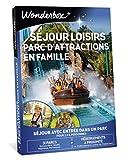 Wonderbox - Coffret cadeau - SEJOUR LOISIRS ET PARC D'ATTRACTIONS EN FAMILLE