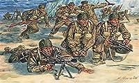 イタレリ 1/72 WW.II イギリス軍コマンド部隊 プラモデル IT6064