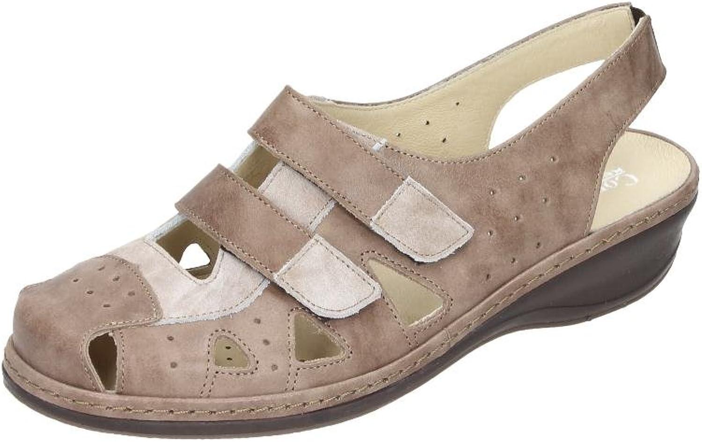 Comfortabel Damen-Sling Ballerinas brown (2)