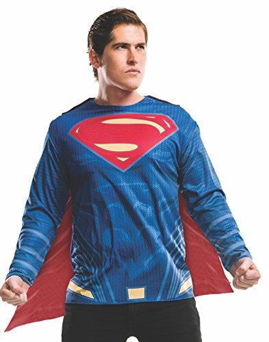 Rubie's Men's Batman v Superman: Dawn of Justice Superman Costume Top,...