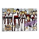 SDFGSD Cartel de anime Nuevo Príncipe de Tenis Pintura decorativa Lienzo Arte de la pared Carteles Sala de estar Pintura Dormitorio
