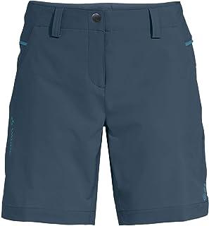 VAUDE Women's Skomer Shorts III Trousers, Womens, Trouser, 42367, Blue (Steel Blue), 42