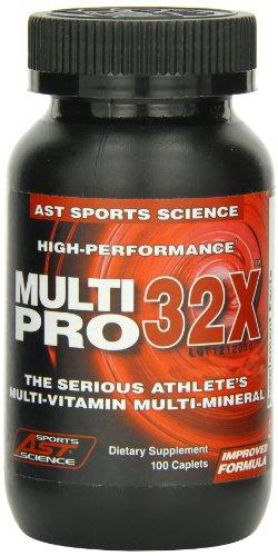 AST Sports Science Multi Pro-32X, Caplets, 100 caplets