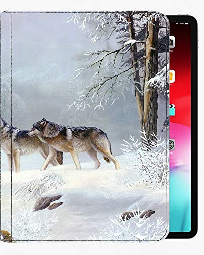 For iPad Pro 9.7 inch Case Cover,Now winter wolf art Case Slim Shell Cover For iPad Pro 9.7