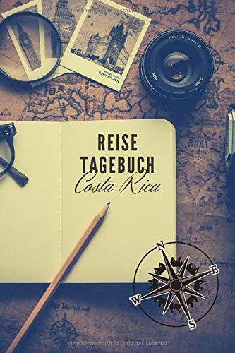Reisetagebuch: Costa Rica: Reisetagebuch mit Packliste, Weltkarte | Reise Journal für Backpacker und Weltenbummler | 140 Seiten auf 6x9 Zoll (15,24 cm x 22,86 cm) | Erinnerungsbuch für Reisende