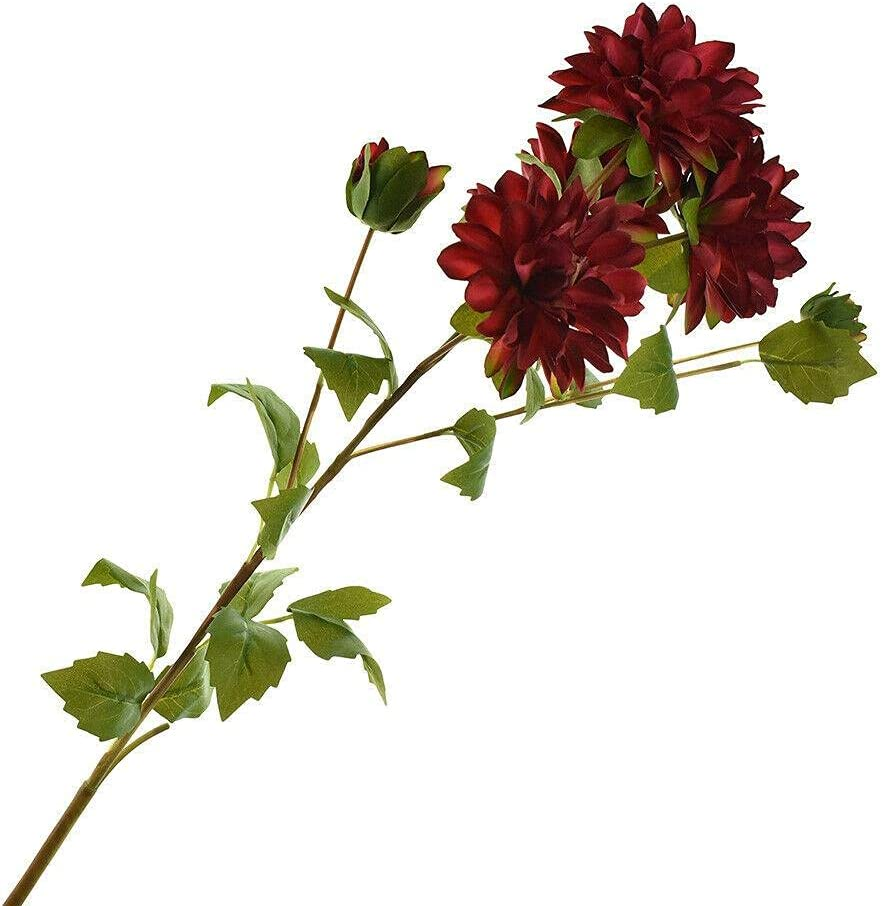 Artificial Two Toned Dahlia 29-1 2-Inch Decor Home Our shop most popular Max 44% OFF Artific for