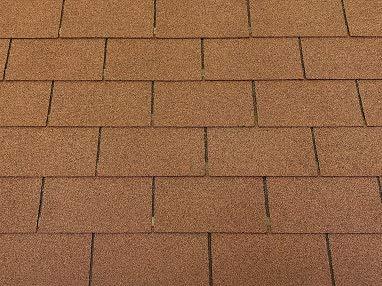 Roofing Shingles 1 m² Rectangular Shape Brown (Pack of 7) Shingles Roofing Felt Bitumen