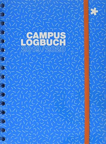 CampusLogbuch 2019/20: Semesterplaner, Terminkalender, Notizbuch, Organisationstool, Lifehacks / A5 / Spiralbindung / Campus Logbuch