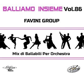 Balliamo insieme, Vol. 86 (Mix di ballabili per orchestre)