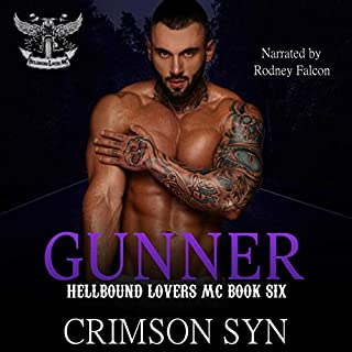 Gunner audiobook cover art