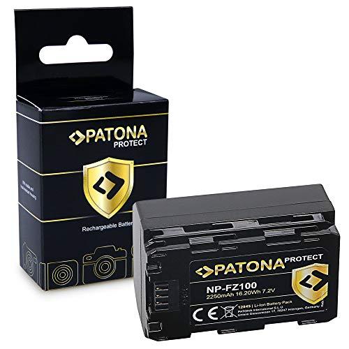 PATONA Protect V1 Batteria NP-FZ100 compatibile con Sony Alpha 6600, A9, A9 II, A7R III, A7 RIV