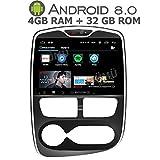 GÜMÜ - PX5PROAT02- Autoradio GPS pour Renault Clio 4 de 2012 a 2016-10,2 Pouces - Android 9.0 Oreo + 4GB de RAM+ 32GB de mémoire - Bluetooth- clé USB- WiFi -