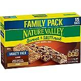 Nature Valley Sweet & Salty Nut Peanut Almond Dark Chocolate Granola Bars 15ct